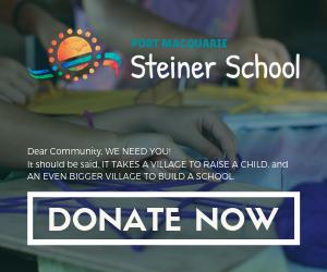 Make a donation to Port Macquarie Steiner School