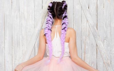 Mermaid Braids for Kids