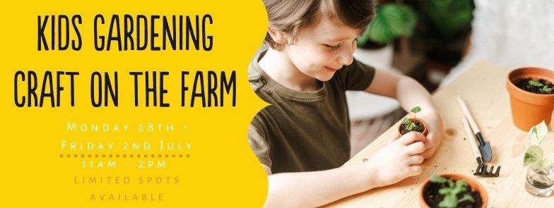 Kids Craft on the Farm