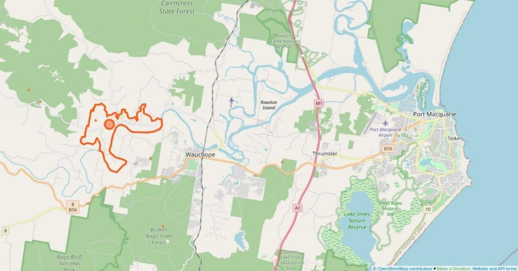 Beechwood Area Map