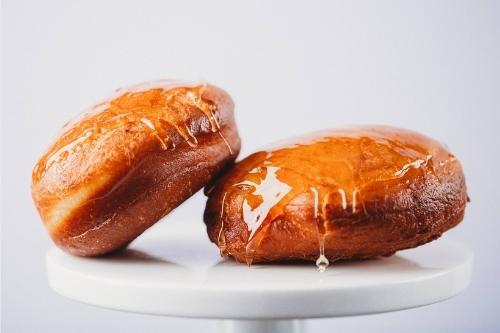 Palates of Port Vanilla Creme Brulee Donut Boxes